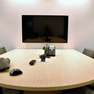 Salle de conférence, boite de table, affichage dynamique