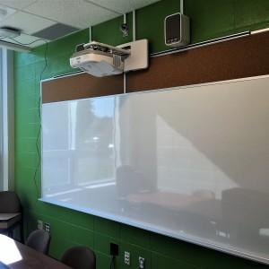 Salle de classe, projecteur, TBI