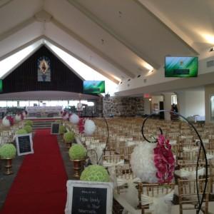salle de réception/église
