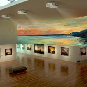 Musée avec projecteur Epson ProZ
